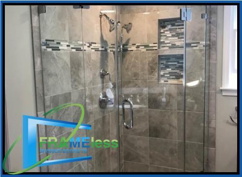 custom frameless shower door install replacement nashville 150