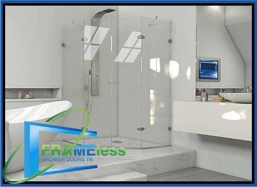 custom frameless shower door install replacement nashville 151