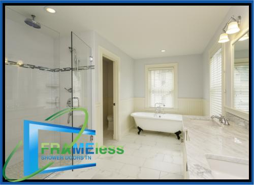 custom frameless shower door install replacement nashville 152