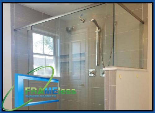 custom frameless shower door install replacement nashville 154