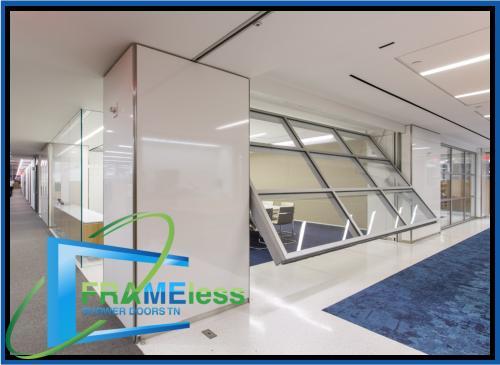 custom frameless shower door install replacement nashville 157
