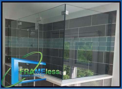 custom frameless shower door install replacement nashville 163