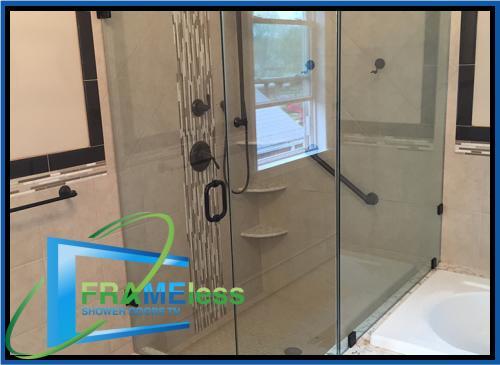 custom frameless shower door install replacement nashville 165