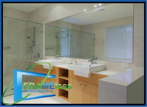custom frameless shower door install replacement nashville 166