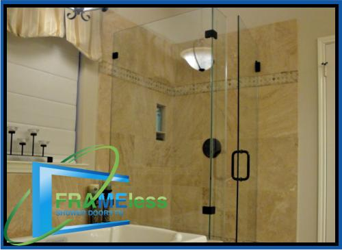 custom frameless shower door install replacement nashville 167