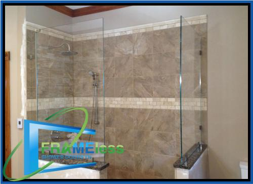 custom frameless shower door install replacement nashville 171