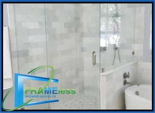 custom frameless shower door install replacement nashville 177