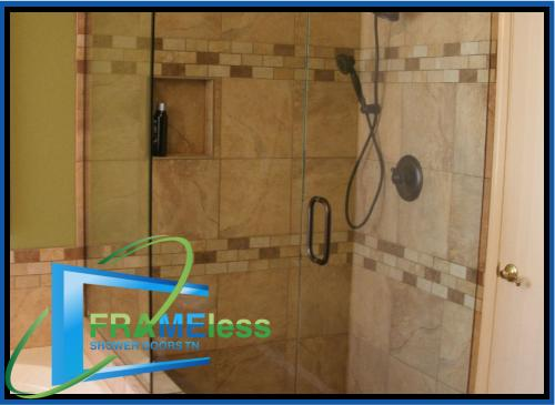 custom frameless shower door install replacement nashville 178