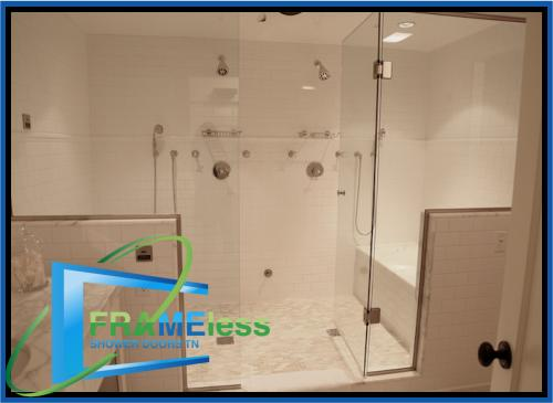 custom frameless shower door install replacement nashville 181