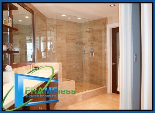custom frameless shower door install replacement nashville 184