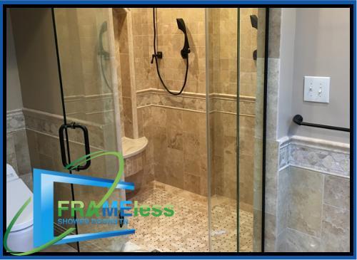 custom frameless shower door install replacement nashville 185