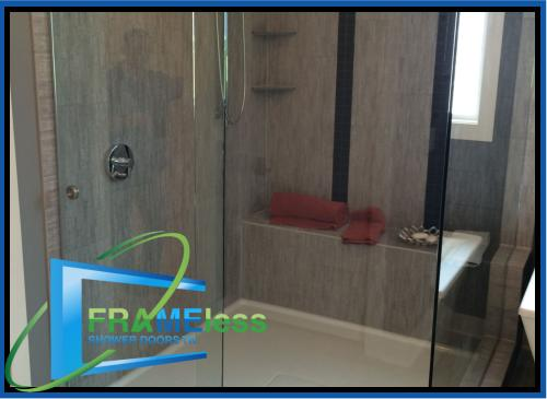 custom frameless shower door install replacement nashville 187
