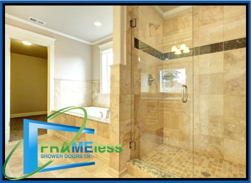 custom frameless shower door install replacement nashville 189