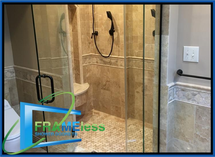 glass shower door replacement install spring hill brentwood tn 83